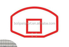 FIBA Standard Red SMC Basketball Backboard