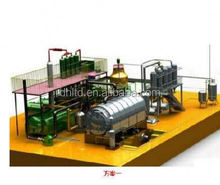 Rubber Floor Tile Making Machine / Waste Tire Recycling machines