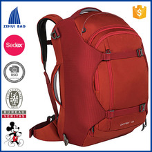 Fashion leisure woman and man back bags snowflake fabric bordeau business laptop backpack travelling