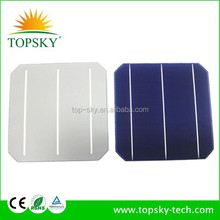 High eff 156X156MM monocrystalline solar cell price lower