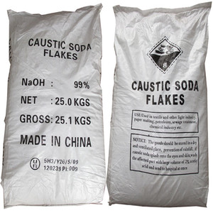 Manufacturer Since 1995 /NaOH /Caustic Soda Flakes 99% for Making Paper