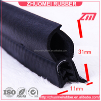 Boat Edge Trim Rubber Boot Seal
