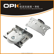 OPK-01238 Furniture Hardware Silver Colour Sliding door Pulley System