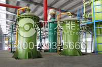 Appropriative low-temperature distillation transformer oil purifier plant