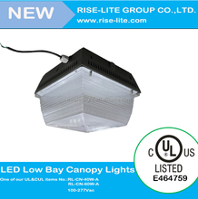 meanwell driver underground garage led canopy light DLC made in china