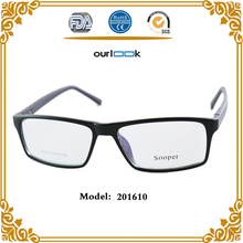 2018 Hot Sale Black Color TR90 Anti Blue Ray Sense Optical Glasses