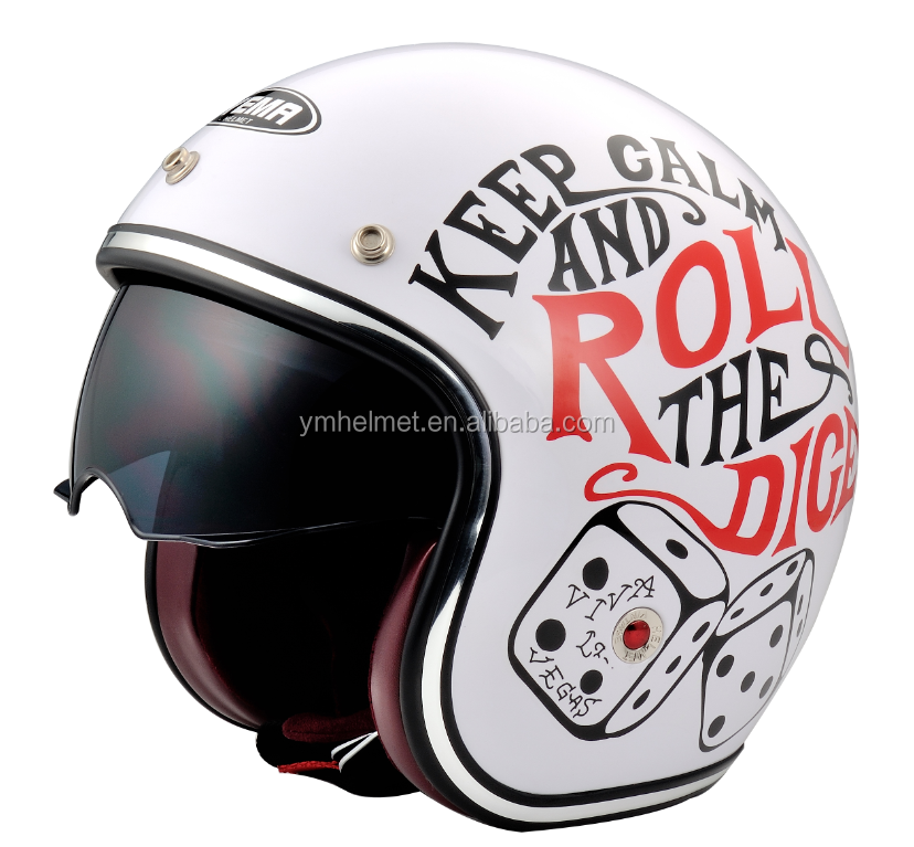 Hot Selling Retro Motorcycles Halley Helmet, Halley Cross country helmet,Retro bicycle racing motocross unique bike helmet