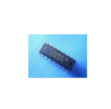 Original genuine inline SN74LS47N BCD-7 segment efficient decoding / driver DIP-16 ic for iphone 4s baseband ic