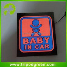 Alibaba shopping best sell online,sound music activated flashing el car stickers equalizer