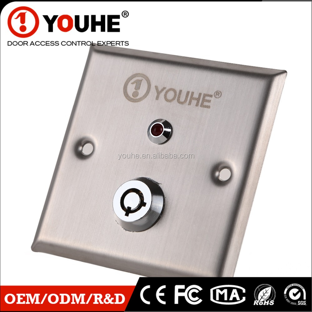 New waterproof emergency switch with emergency light door access control system for elevator door YH-800G