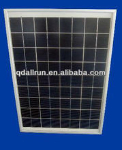 High efficiency 15 watt solar panel