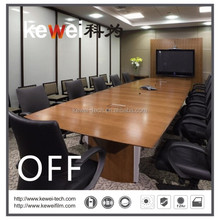 Electric PDLC Smart Glass film for office space