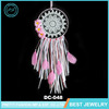 Home Deco Cheap Jewelry Manufacturer Flower Dream Catcher Feather Custom For Gift