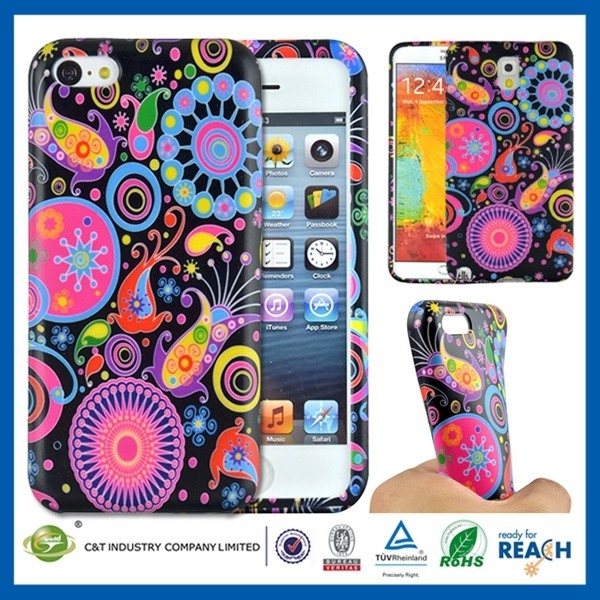 cute cartoon 3d mobile phone case silicon stand cases for iphone 5
