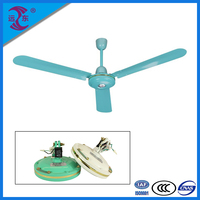 Hot sale competitive price strong power motor 12v ceiling fan china