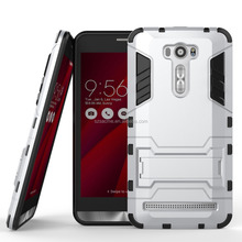For Sony Xperia X Compact Hybrid Armor Iron Man Style Dual Layer Hybrid Rugged Kickstand Case