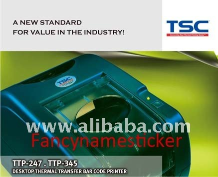 TSC TTP-345 Barcode Label Sticker Printer