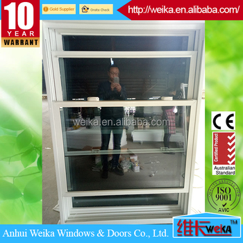 lead free vinyl double hung double tilt window