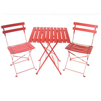 Cheap Garden 3-piece Plastic Folding Bistro Set