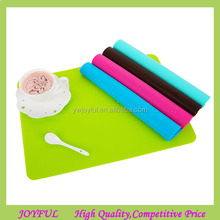 New Arrival Non Stick Heat Resistant Silicone Placemats Food Serving Placemats