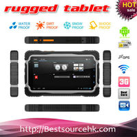 Dustproof rugged tablet PC / Quad core MTK6589 android 4.2 phone call 7inch IPS screen rugged MID with compass