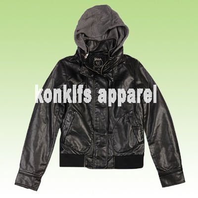mens two in one PU leather jacket , ODM and OEM orders are welcomed