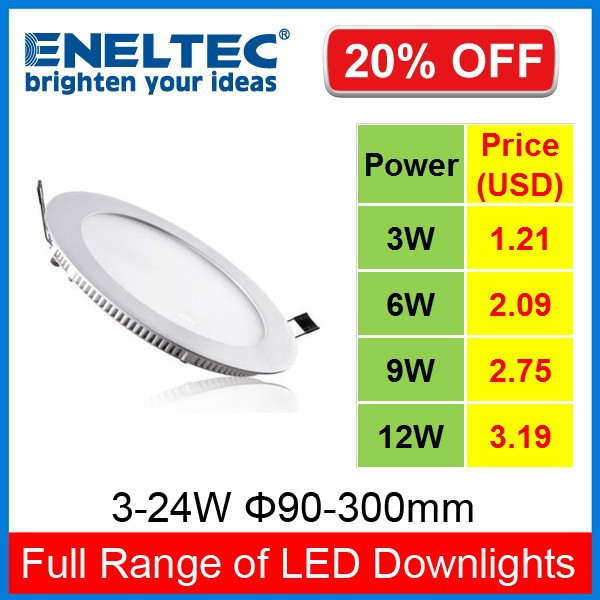 5 years warrenty 8 inch 15w led retrofit recessed downlight panel made in china