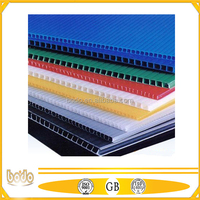PP hollow sheets / pp corrugated plastic board with UV treatment