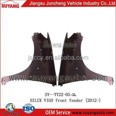 TOYOTA HILUX VIGO 2012 FRONT FENDER MOTOR BODY PARTS FOR SALE