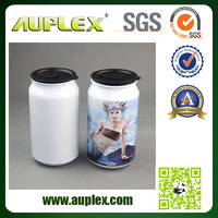 New Style Christmas Hot Sale Portable 500ml Heat Transfer Can Sublimation Tin Can (SC-W)