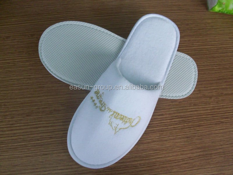 nonwoven slippers for in-flight one time use slippers manufacturer disposable slipper