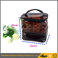 colourful cosmetic bag,pvc cosmetic bag with zipper top and handle