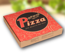 Disposable fashion design cheap pizza boxes with logo wholesale