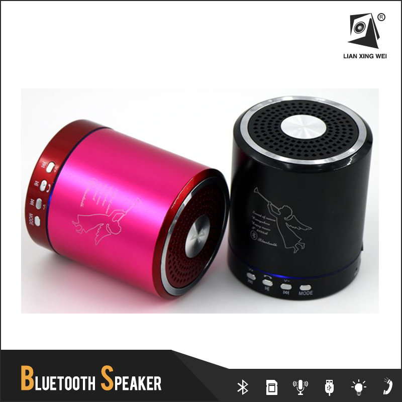 t2020a mini portable wireless bluetooth speaker with microphone