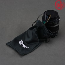 Double Drawstring Microfiber Pouch with Logo Printing
