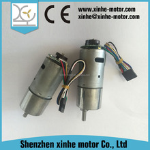 dc engine gearbox reduction mini motor with encoder for robot