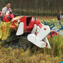 2017 Most Popular cheap rice combine harvester 4LZ-1.2 Price of wheat harvester