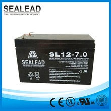 12v 7ah rechargeable deep cycle sealed lead acid battery for toy car