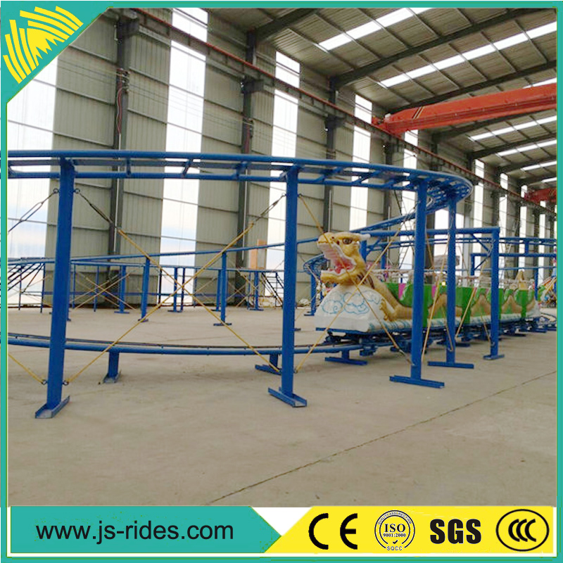 theme park machine small roller coaster sliding dragon equipment hot sale