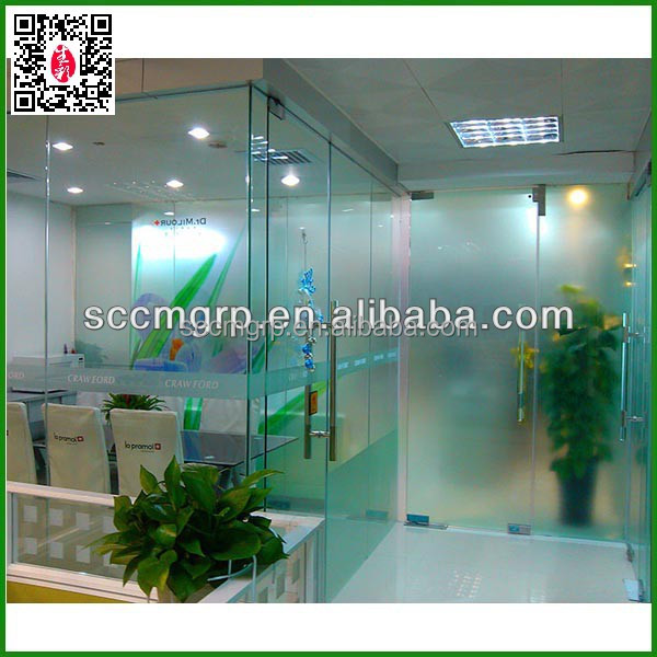 frosted static cling window film for decoration/decorative vinyl static cling decals