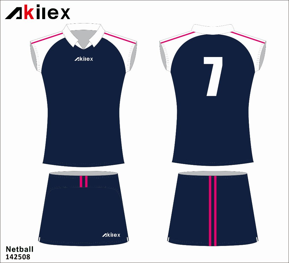 custom professional sublimation girls badminton jersey badminton uniform