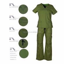 Hospital Scrub-1040 Hot Sale New Fashion Scrubs Uniforms