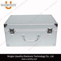 New Aluminum Tool Box Case Storage Toolbox Professional Cosmetic Case