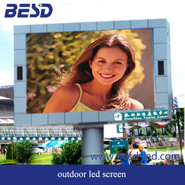BesdLed auto brightness adjustment P16 Waterproof outdoor led screen
