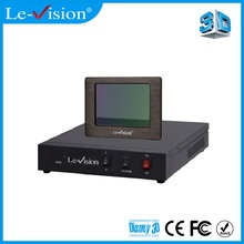 DLP Projector 2D to 3D Converter Polarization Cinema 3D System