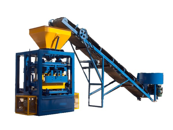 QT4-24 Popular type Vibrate Electric Model Cement Block Making Machine and Hollow Block Making Machine Price for Sale