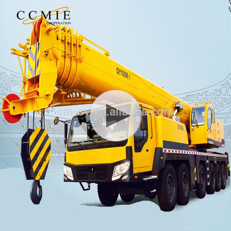 Used <strong>truck</strong> crane QY100K-I <strong>100</strong> ton <strong>truck</strong> mounted crane with price list