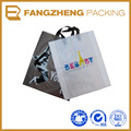 Hot sale burlap bags with handles bags/custom printed Hand Length Handle Sealing bags/plastic handle bag