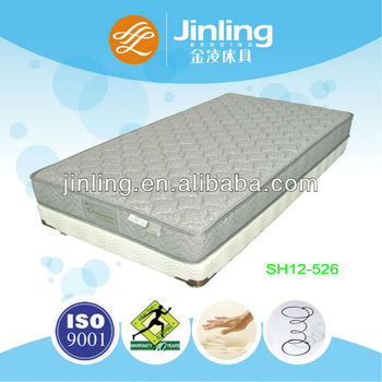 Memory foam Bonnell spring mattress with wave sponge
