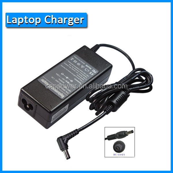 Laptop Memory Adapter for 75W 19V 3.95A 5.5*2.5mm Wholesale China manufacturer Laptop AC Adapter